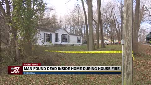 Police say one person found deceased after Lehman Street house fire