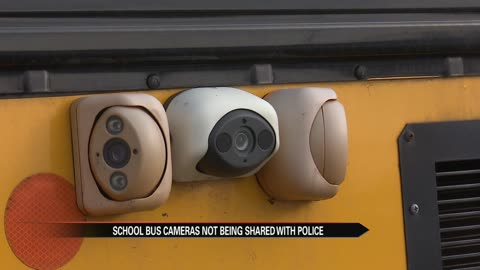 Police say school bus camera footage is not being shared with them