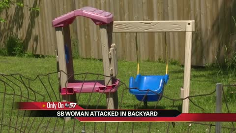 Police search for man who exposed himself, attacked woman mowing lawn
