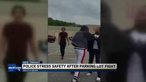 South Bend woman records 'Big Lots' close-call altercation in parking lot