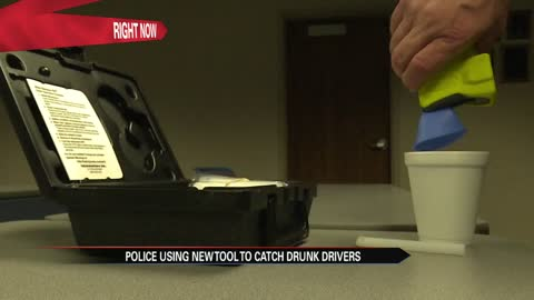 Police using new tool to catch drunk drivers this holiday season