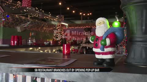 Pop-up Christmas bar spreads holiday spirit in South Bend