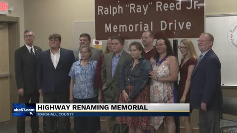 Portion of US 30 renamed for ISP motor carrier inspector Ray...