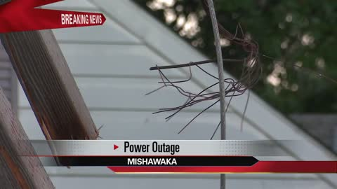 Power restored in Mishawaka after tree takes out power lines