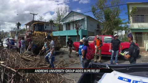Graduate students and professors bring aid to those suffering in Puerto Rico