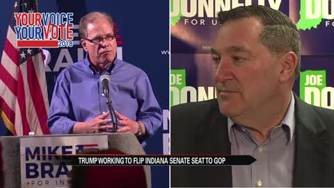 President Trump will urge voters to support Senate candidate Mike Braun