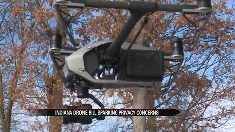 Indiana drone bill for police sparks privacy concerns