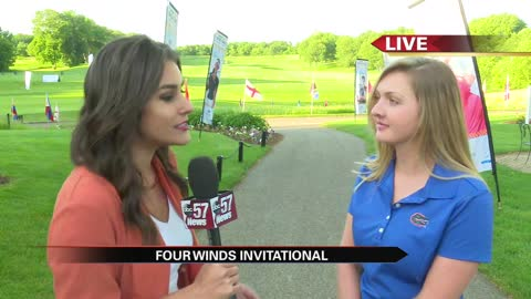 Pro-Am golfer Kelly Grassel speaks with ABC57 news