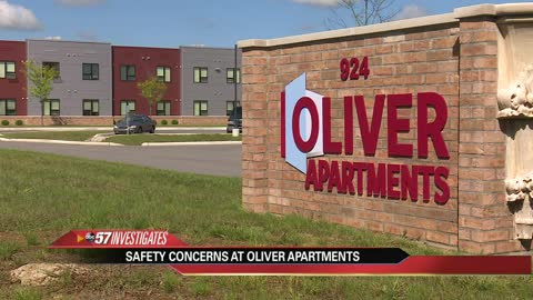 Police records show problems at Oliver Apartments