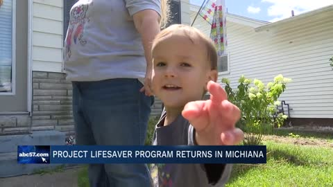 A local lifesaving program helping those with special needs returns...