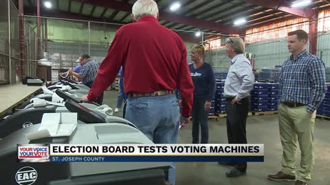 Public testing for new voting machine held in South Bend
