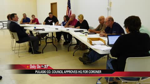 Pulaski council purchases central office for coroner