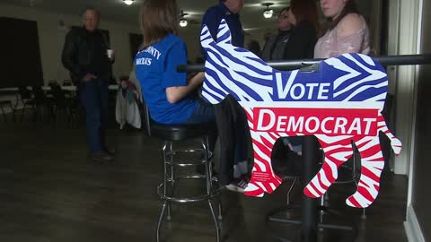 Pulaski democrats host congressional candidates for Dyngus Day