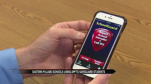 Pulaski schools protecting students with SchoolGuard app