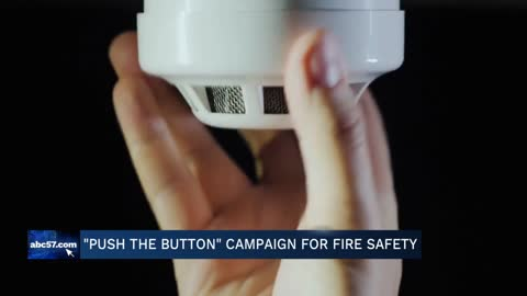 Push the Button campaign for fire safety making an extra push for Mother's Day