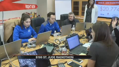 Radiothon raises thousands of dollars for St. Jude Children's Research Hospital