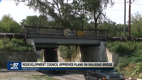 Railroad overpass in New Carlisle to receive upgrades