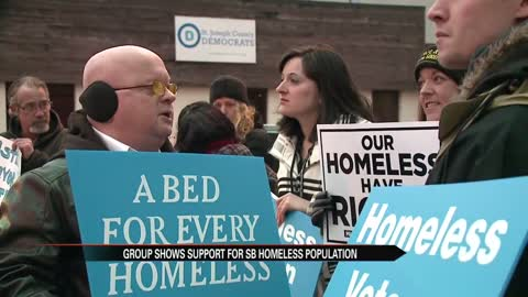 Michiana Five for the Homeless holds rally in South Bend