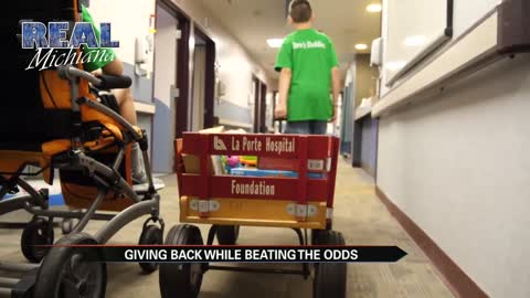 Real Michiana: Giving back while beating the odds
