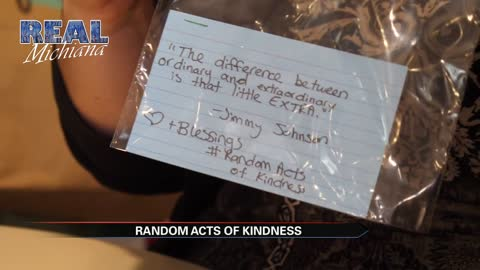 Real Michiana: Spreading kindness one random act at a time