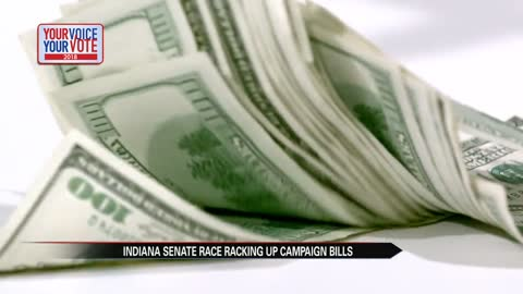Candidates raise record funds in heated U.S. Senate race