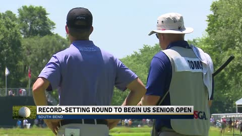 Record-setting opening round begins US Senior Open