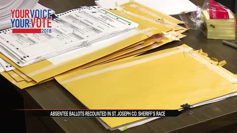 Recount continues for St. Joseph County sheriff, big decision to come