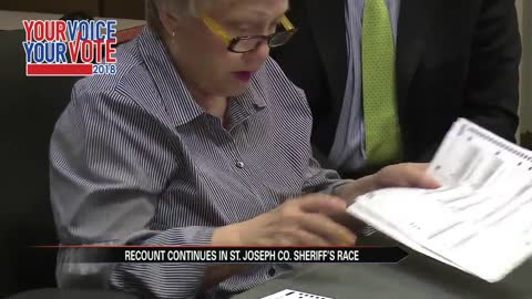 Recount continues in St. Joseph County Sheriff's race