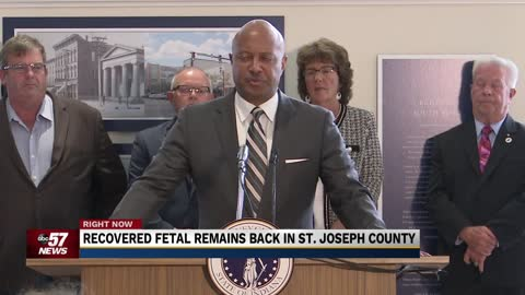 Fetal remains from Klopfer's home transferred to St. Joseph County
