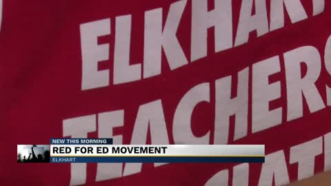 Michiana teachers renew #Red4Ed movement ahead of new school year