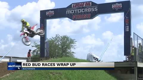RedBud was in full swing as competitors race for first place