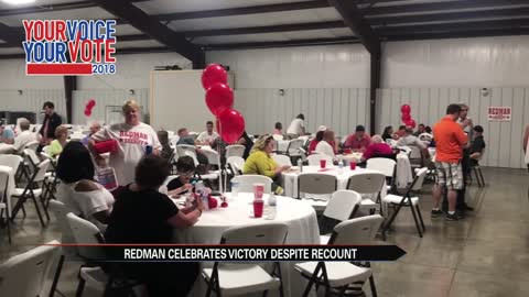 Redman campaign holds victory fundraiser during recount process
