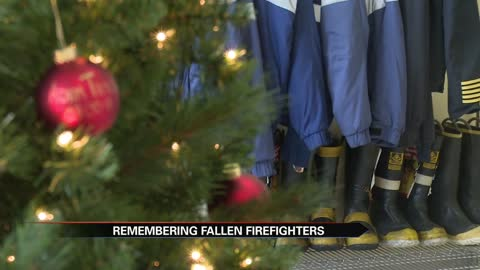 Penn Township Fire Dept. begins new Christmas tradition to honor fallen firefighters