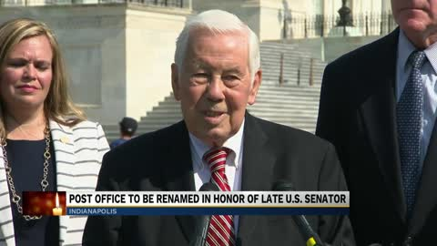 Congress backs naming Indianapolis post office for Lugar