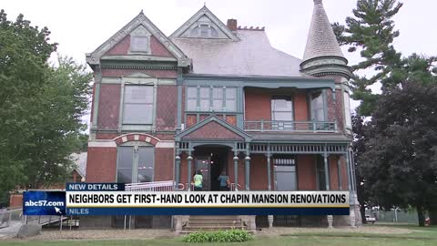 Renovation project for Chapin Mansion in Niles underway