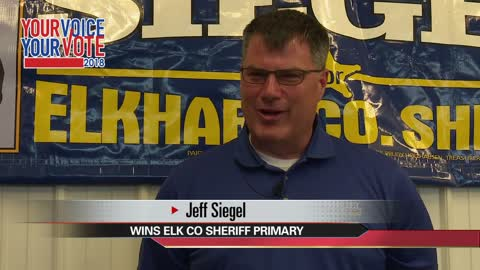 Republican Jeff Siegel wins Elkhart County Sheriff primary race
