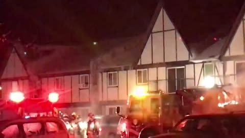 Residents evacuated after apartment fire in Bristol