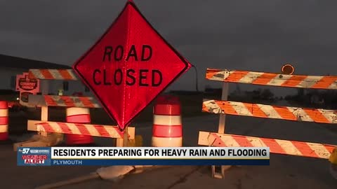 Residents preparing for heavy rain and flood possibilities