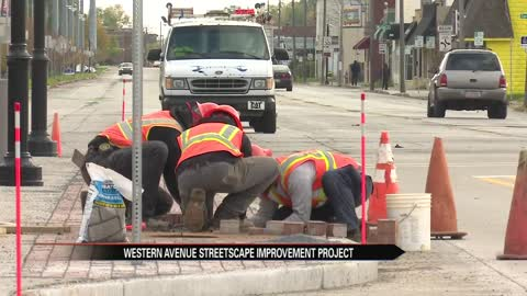 "Ribbon cutting for ""Western Avenue Streetscape Project"" Tuesday"