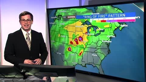 """Ring of Fire"" pattern to bring summer weather"