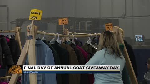 River Valley Church ends annual Coat Give Away Day in Mishawaka