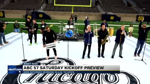Rock band 'Chicago' to perform during Notre Dame Football's halftime show