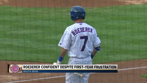Cubs' Roederer confident despite first-year frustrations