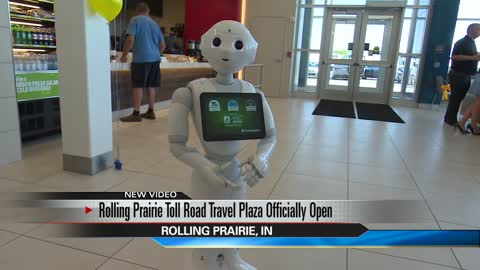 New Toll Road travel plaza grand opening in Rolling Prairie