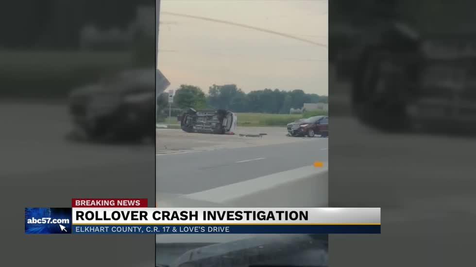 Rollover crash under investigation on C R  17 in Elkhart