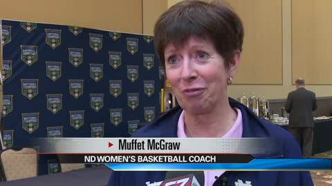 Rotary Club hosts Coach Muffet McGraw & Purple Pinkies for Polio