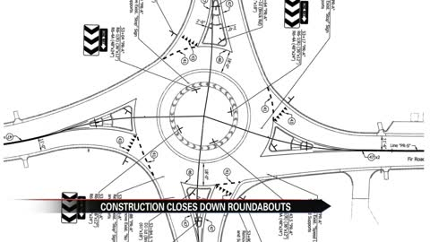 Roundabout construction begins in Granger