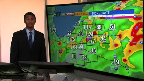 Remnants of Barry may bring isolated flooding