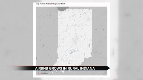 Rural Indiana sees Airbnb boom