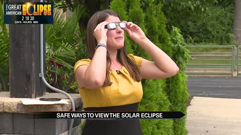 Safe ways to view the Solar Eclipse